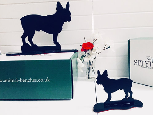 French Bulldog Silhouette Ornament