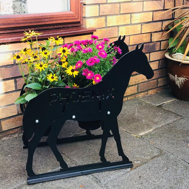 Horse Planter