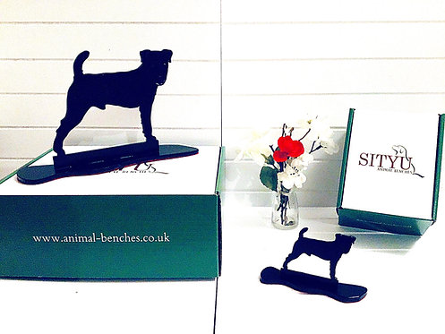 Jack Russell Silhouette Ornament