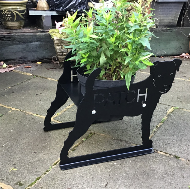 Jack Russell Planter