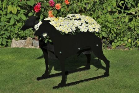 Greyhound  Planter