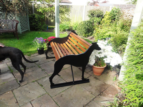 Two Seater Greyhound Bench