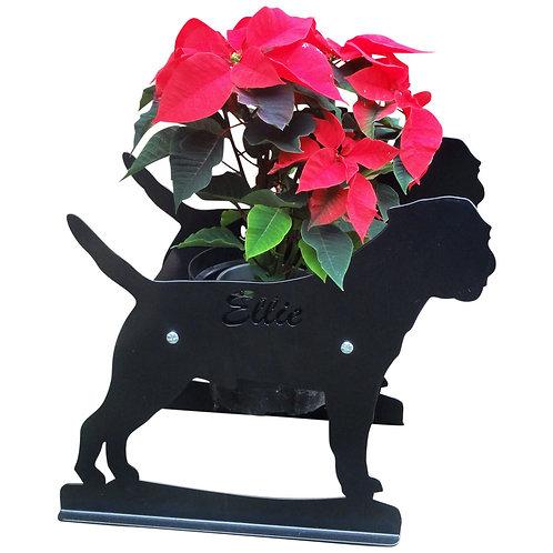 Border Terrier Themed Planter