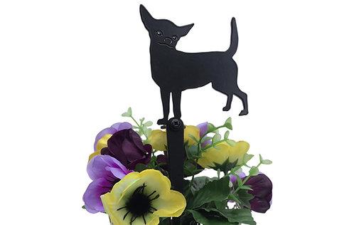 Chihuahua Flowerpot Stake