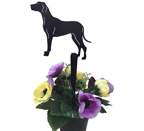 Great Dane Flowerpot Stake