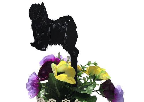 Tibetan Terrier Flowerpot Stake
