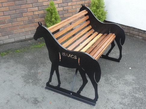 Personalised Horse Bench