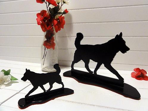 Husky Silhouette Ornament