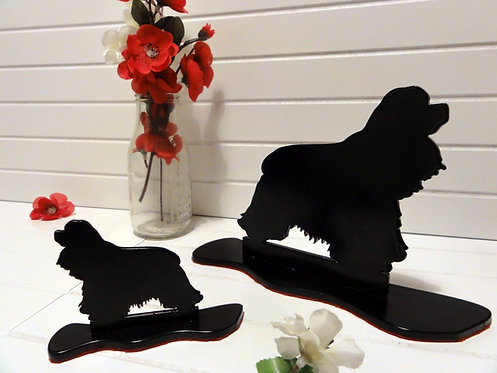 Cocker Spaniel Silhouette Ornament