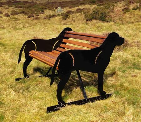 Labrador Dog Bench