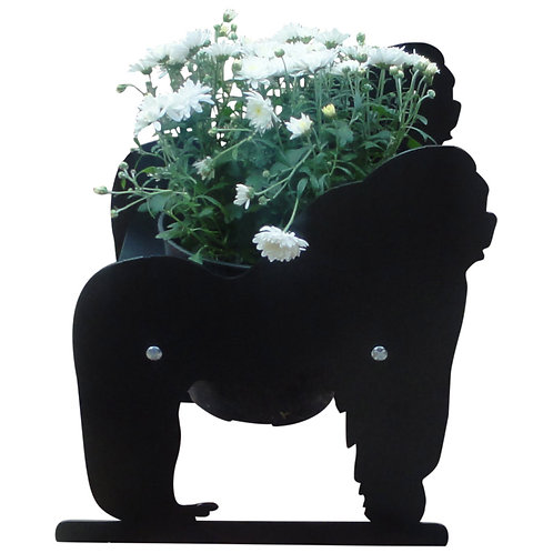 Gorilla Themed Planter