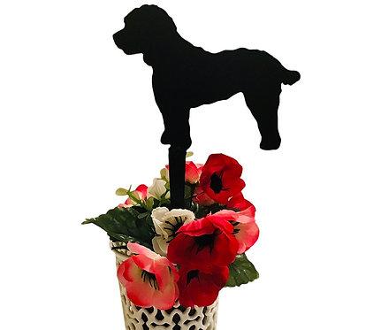 Cockapoo Flowerpot Stake