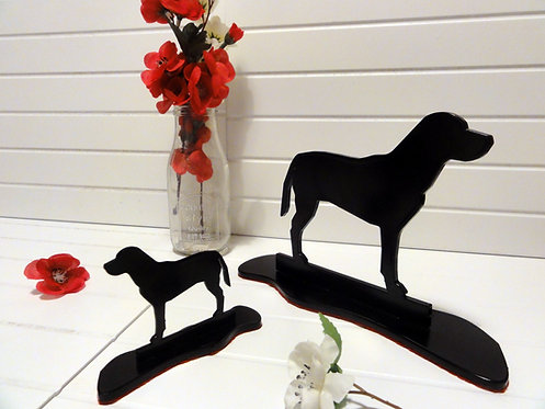 Labrador Silhouette Ornament
