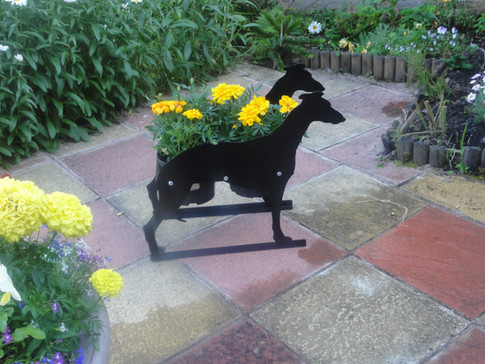 Greyhound Planter