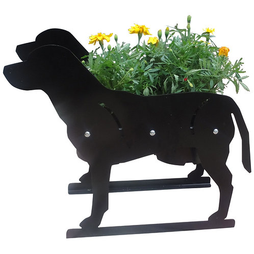 Labrador Themed Planter