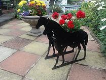 Greyhound Ornament Sillhouttte