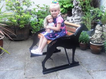 Child Size Greyhound Bench