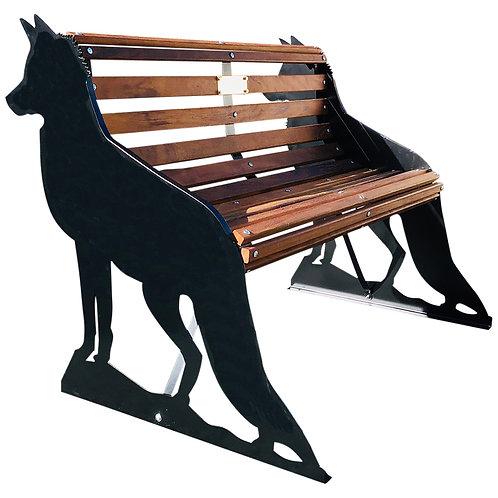 Fox Garden Bench