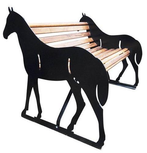 Horse Garden Bench