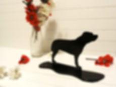 Staffordshire Bull Terrier Ornament Sillhoutte
