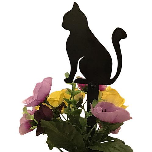 Cat Flowerpot Stake