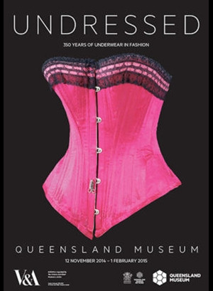 Poster for amazing exhibition at Brisbane museum in 2014