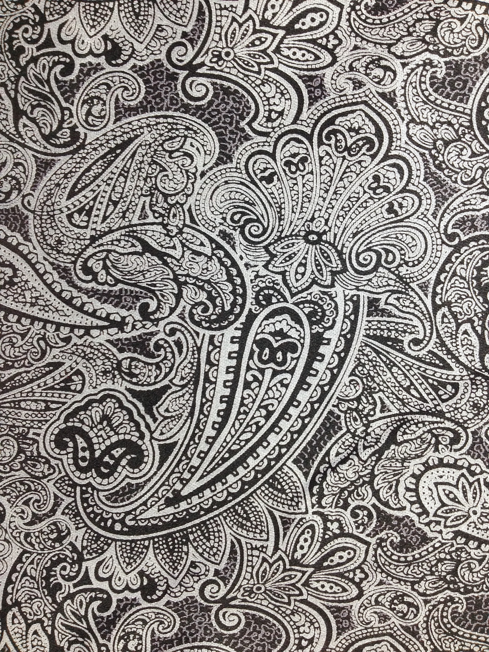 More of that glorious paisley fabric