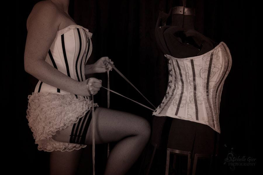 Heirloom Corset by Michelle Gier Photography