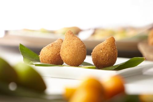 Coxinha (croquette au poulet et fromage fondu)  x 12 pièces