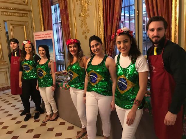 Carnaval à l'Ambassade du Brésil