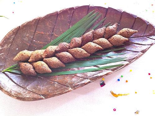Quibé x 12 pièces cocktail (croquettes de viande, pignon et menthe) A frire.