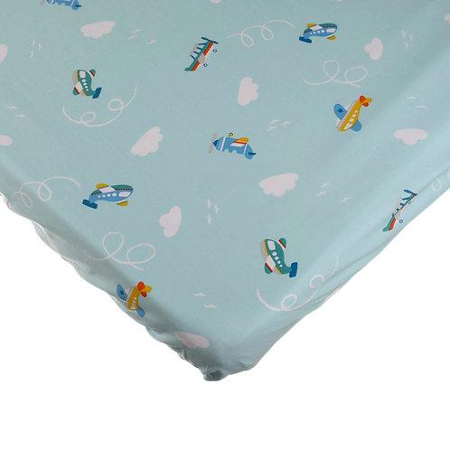 סדין למיטת תינוק - אווירונים