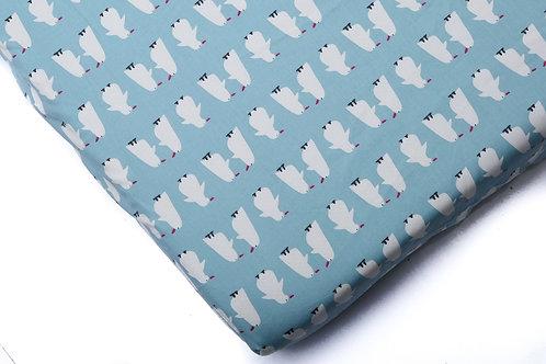 סדין למיטת תינוק - פינגווין פרימיום