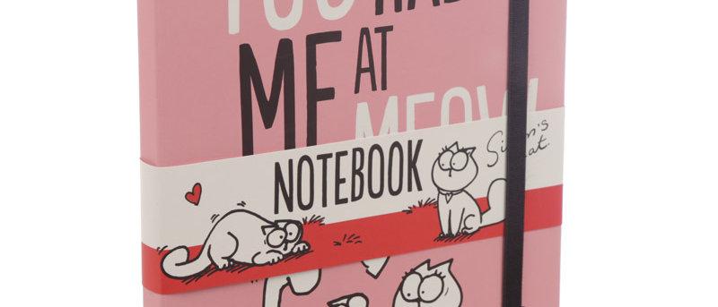 Notitieboekje A5 'Simon's Cat - You had me at meow'