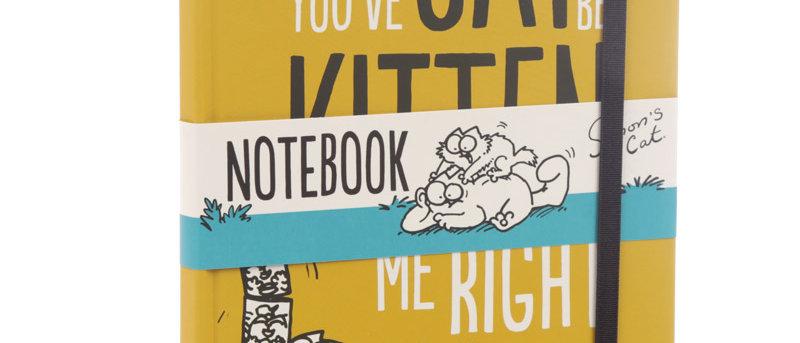 Notitieboekje A5 'Simon's Cat - You've cat to kitten me right now'