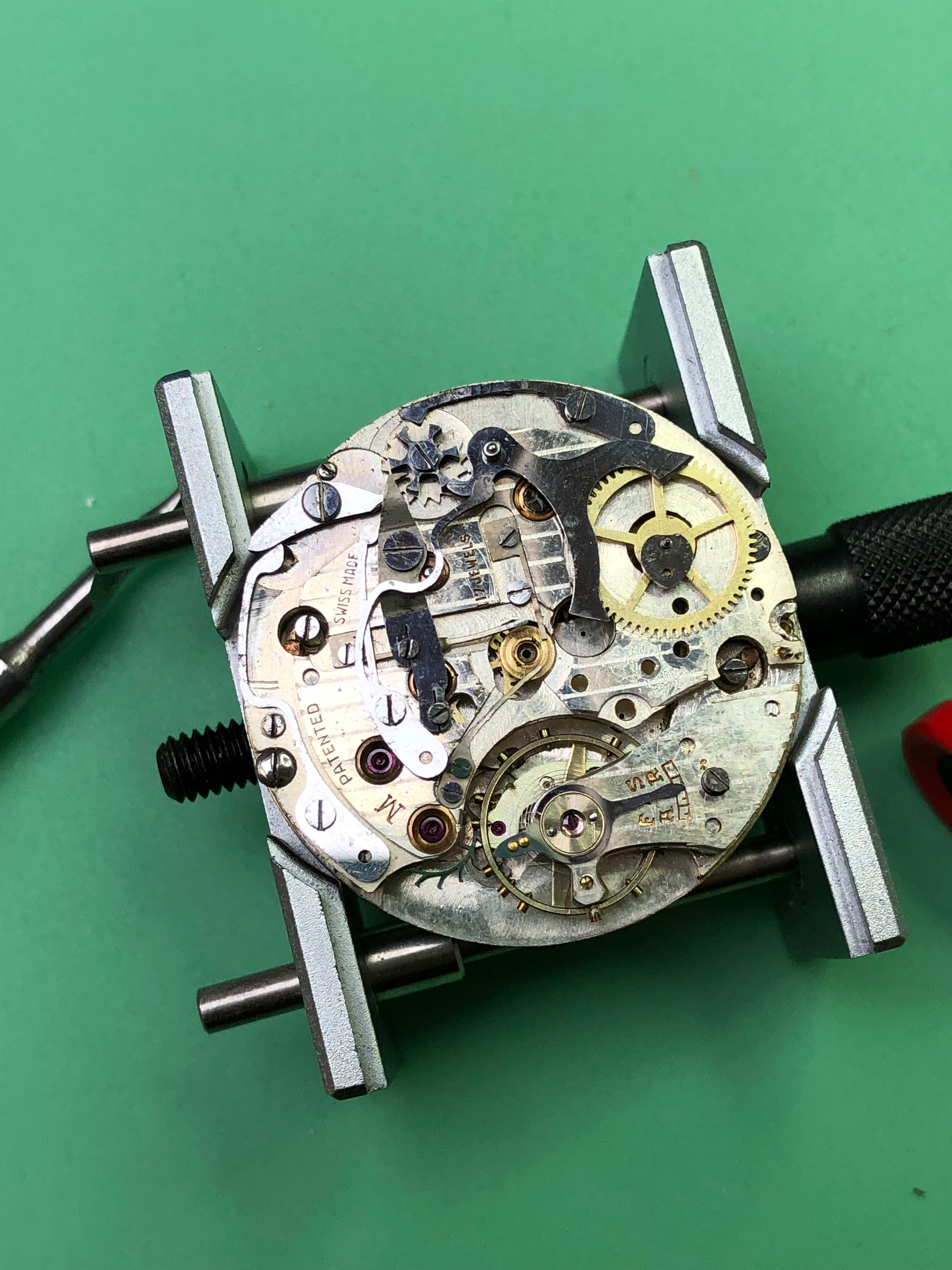 A world war 2 Chrono in for service