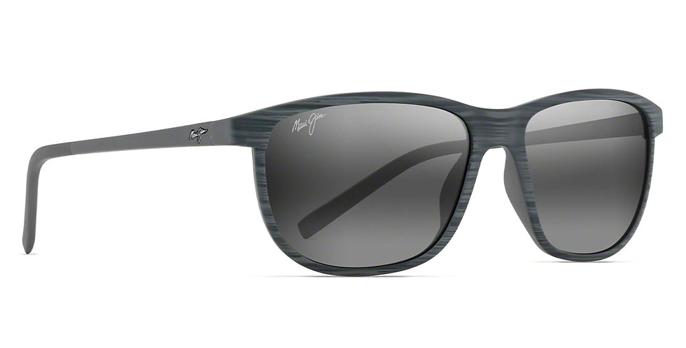 Maui Jim Lentes de Sol Polarizados Dragon's Teeth Rayas Grises