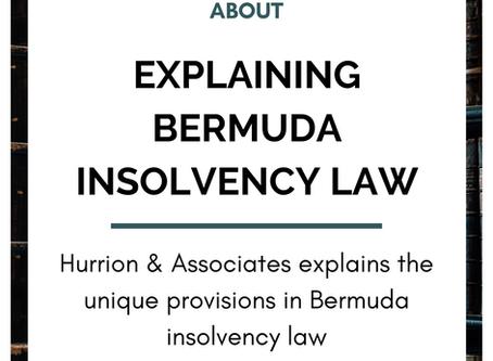 Explaining Bermuda Insolvency Law