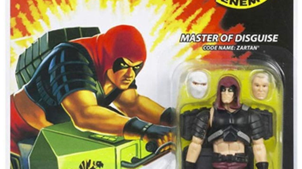 "G.I. JOE Hasbro 3 3/4"" Wave 11 Action Figure Zartan (Master of Disguise)"