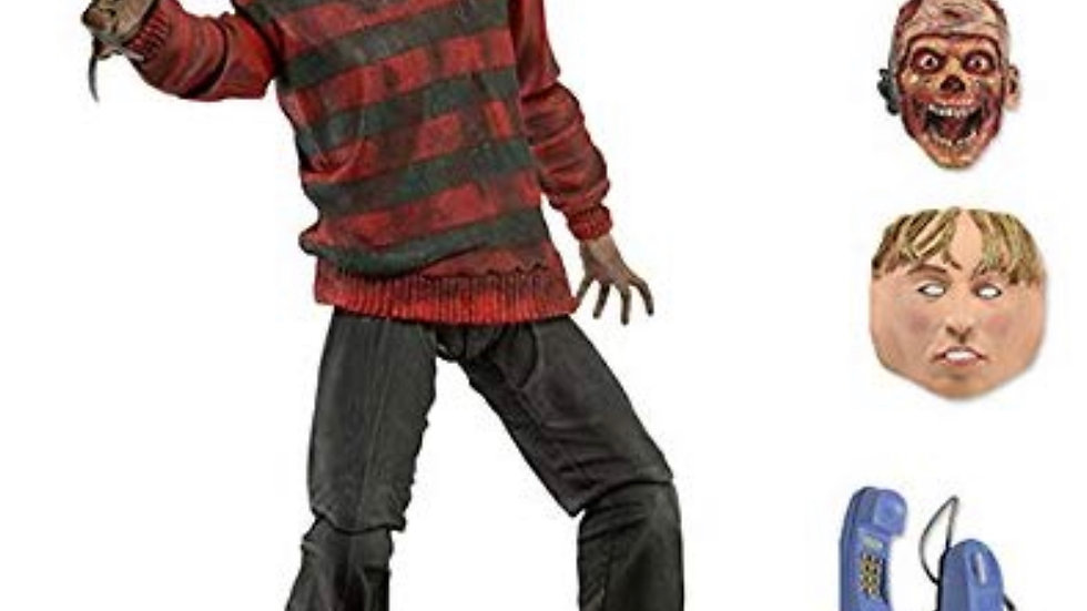 "NECA Nightmare on Elm Street Ultimate Freddy 30th Anniversary 7"" Action Figure"