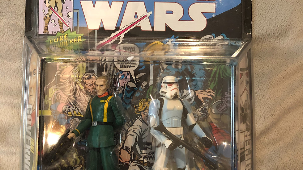 Hasbro Star Wars Comic Packs Dark Horse Comics Governor Tarkin - Stormtrooper