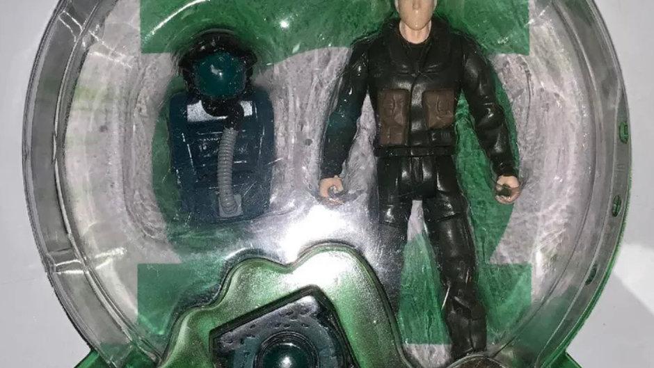 "Green Lantern Corps 3.75 inch Action Figure Test Pilot Hal Jordan Rare 3 3/4"""