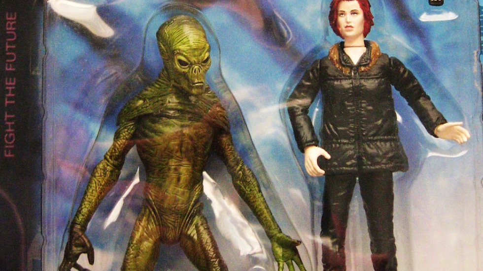 The X-Files: Fight The Future Movie Agent Dana Scully Action Figure