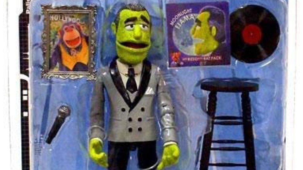 Muppets The Tonight Series 7 Johnny Fiama Action Figure [Steppin' Out] Paisades