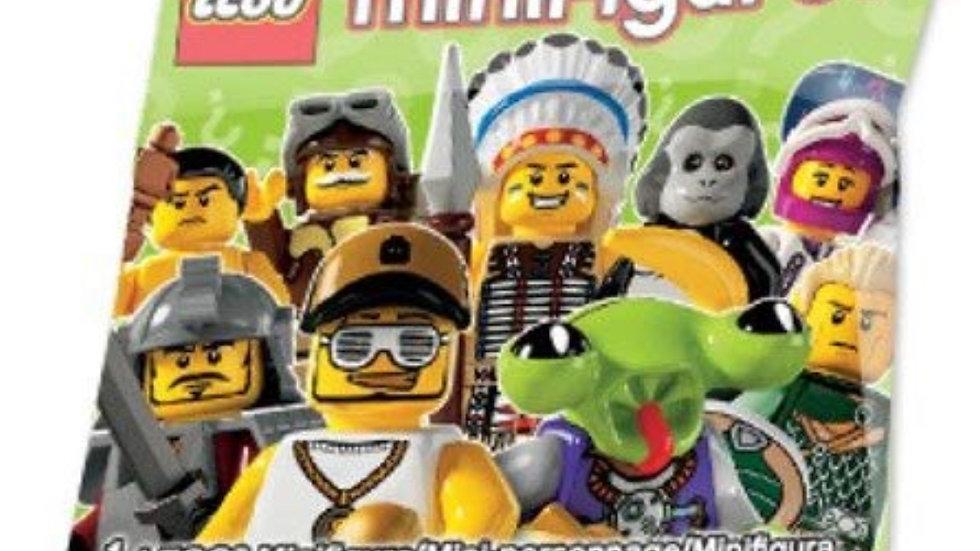 LEGO Minifigure Collection Series 3 Mystery Bag Pack 1 Random Mini Figure!
