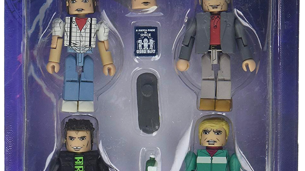 Back to the Future 30th Anniversary Minimates Return to Hill Valley 1985 Mini Fi