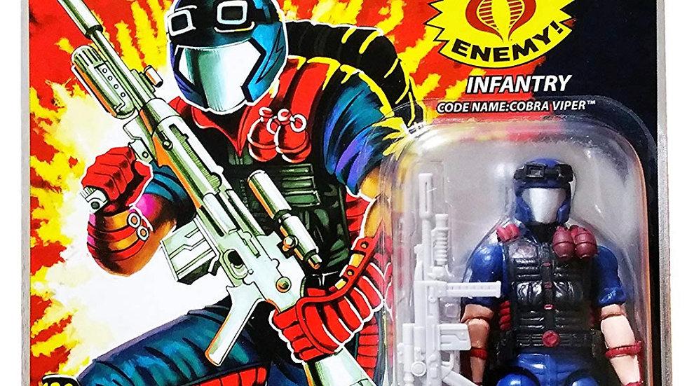 "G.I. Joe 25th Anniversary: Cobra Viper (Infantry) 3 3/4"" Inch Action Figure"