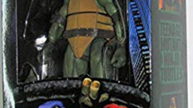 Teenage Mutant Ninja Turtles 90's Movie Michelangelo 6.5-inch Action Figure by N