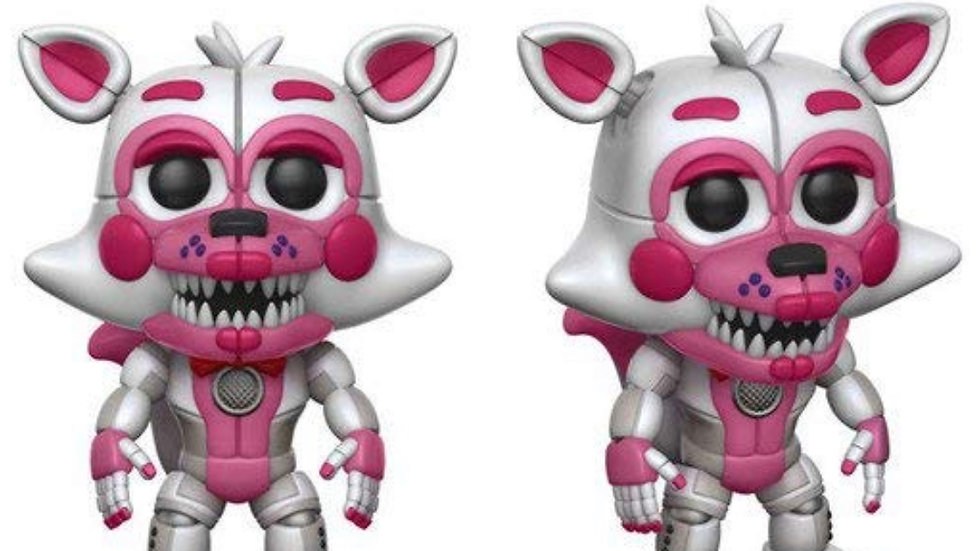Funko Pop! Games Sister Location Funtime Foxy Collectible Figure