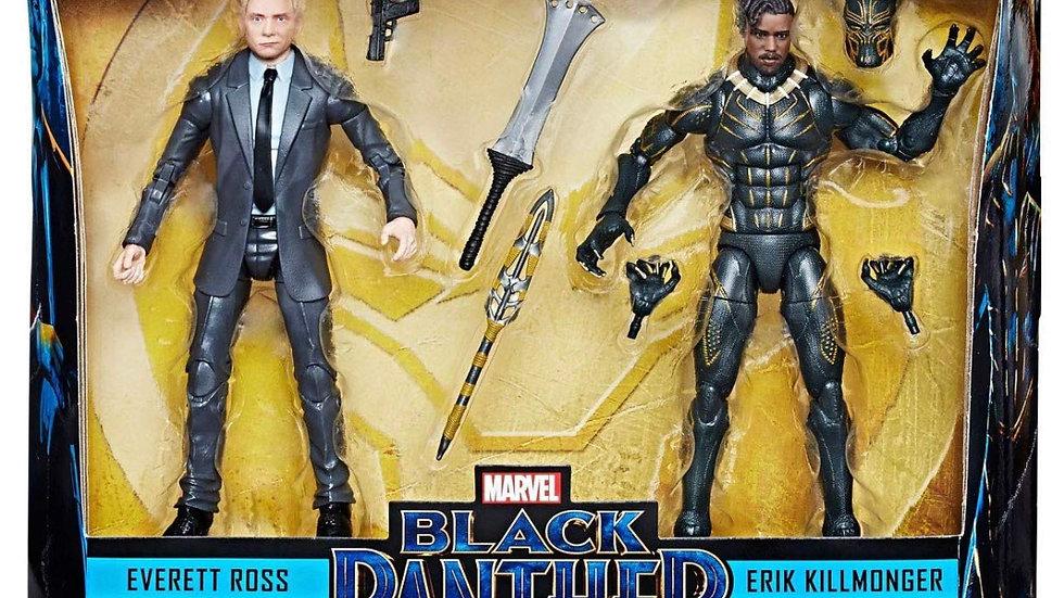 Marvel Legends Black Panther - Everett Ross Erik Killmonger Exclusive 2 Pack